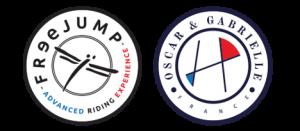 logo freejump oscar&gabrielle