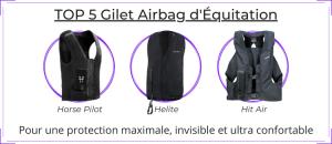 Top 5 gilet airbag équitation
