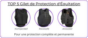 Top 5 gilet de protection équitation
